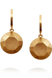 IAM by Ileana Makri Gold-plated drop earrings