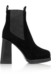 Acne Studios Flaire suede ankle boots