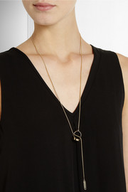 Maison Martin Margiela Gold-tone necklace