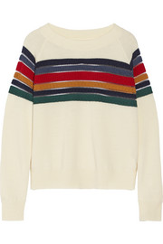 Band of Outsiders Striped wool sweater