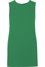 KENZO Satin and stretch-crepe mini dress