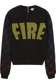 KENZO Fire wool-blend felt sweater