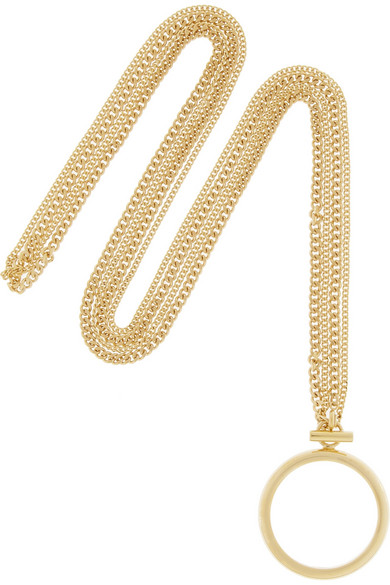 Carly Gold-tone Necklace