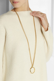 Chloé Carly gold-tone necklace