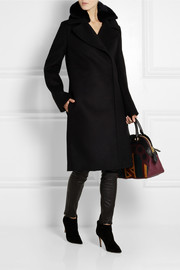 Acne Studios Era shearling-trimmed wool coat