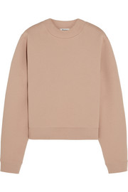 Acne Studios Bird cotton-blend jersey sweatshirt