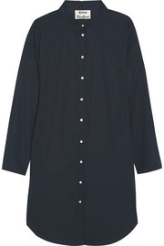 Acne Studios Lash oversized cotton-poplin shirt dress