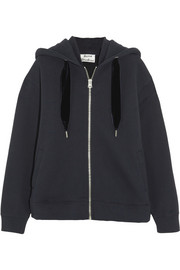 Acne Studios Oversized cotton-blend jersey hooded top