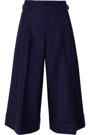 Acne Studios Habit wool and mohair-blend wide-leg pants