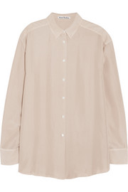 Acne Studios Leia washed-silk shirt