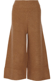 Acne Studios Depend cropped boiled wool wide-leg pants