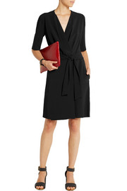 Joseph Amy stretch-crepe wrap dress