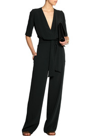 Joseph Alicia stretch-crepe jumpsuit