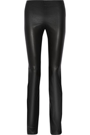 Joseph Lex stretch-leather flared pants