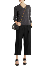 Joseph Saville cropped wool wide-leg pants
