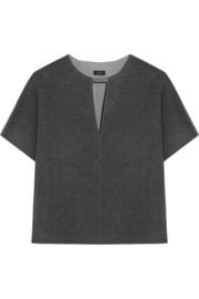 Joseph Meg brushed wool and cashmere-blend top