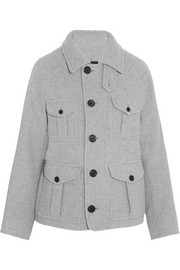 Joseph Callaghan textured wool-blend coat