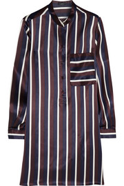Joseph Shirty striped silk-satin tunic