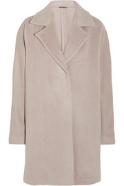 Maison Martin Margiela Wool, silk and angora-blend coat