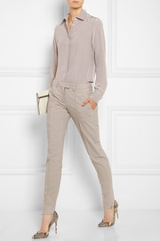 Maison Martin Margiela Stretch-wool straight-leg pants
