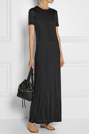 The Row Luiza satin-jersey maxi dress