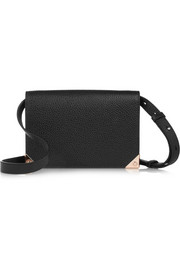 Alexander Wang Prisma textured-leather shoulder bag