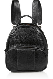 Alexander Wang Dumbo textured-leather backpack