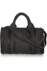 Inside Out Rocco textured-leather tote