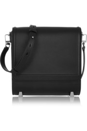 Chastity leather shoulder bag