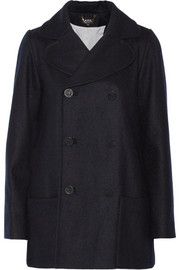 A.P.C. Atelier de Production et de Création Caban Soho wool peacoat