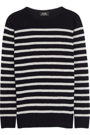 A.P.C. Atelier de Production et de Création Striped wool sweater