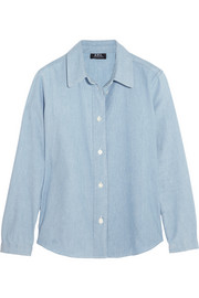 A.P.C. Atelier de Production et de Création Mike cotton-chambray shirt