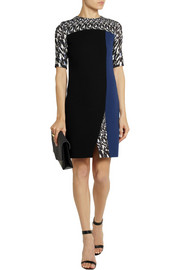Peter Pilotto Kyra color-block wool-crepe dress