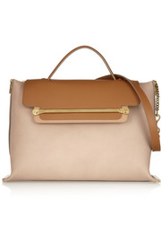 Chloé Clare large leather shoulder bag
