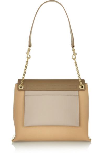 Chlo¨¦ | Clare medium leather shoulder bag | NET-A-PORTER.COM