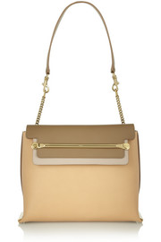 Clare medium leather shoulder bag
