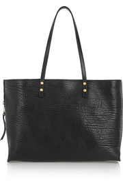 Chloé Dilan textured-leather tote