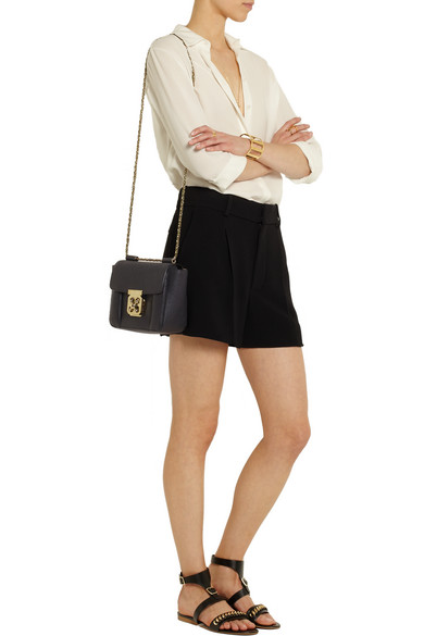 discount variousstyles fashion styles Elsie small textured-leather shoulder bag