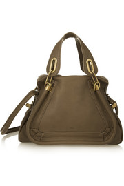 Paraty medium leather shoulder bag