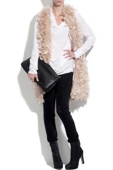 Haute HippieMaribou feather vest