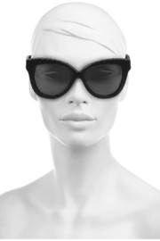 Linda Farrow Cat eye elaphe sunglasses