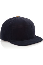 House of Holland New Era velvet baseball cap