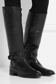 McQ Alexander McQueen Leather knee boots