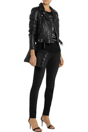 BLK DNM 1 leather biker jacket
