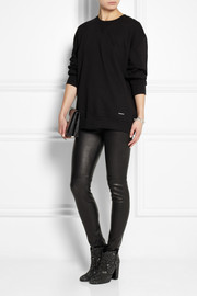 BLK DNM 25 cotton-blend jersey sweatshirt