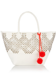 Sophie Anderson Nadia laser-cut leather tote