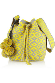 Sophie Anderson Nataly woven cotton bucket bag