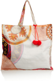 Sophie Anderson Spiro large printed cotton-canvas tote