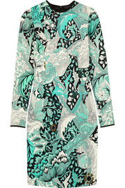 Jonathan Saunders Emeline printed stretch-crepe dress