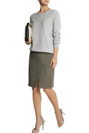 Jonathan Saunders Vida printed silk and wool-blend pencil skirt